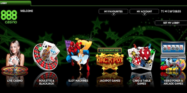 888 provide unique online casino games you cannot find anywhere else