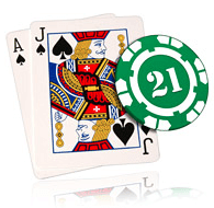 Blackjack is one of the most played casino card games