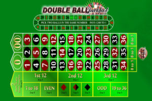double ball roulette board