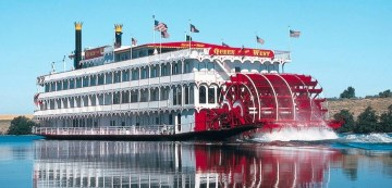 Many gamblers from all over the US would go to the New Orleans riverboat casinos