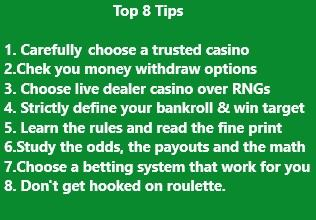 Useful roulette tips for intermediate players