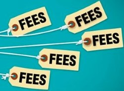 Transaction fees and charges apply at online casinos